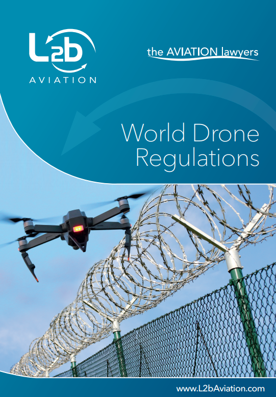 World Drone Regulations booklet with the LDDP contribution